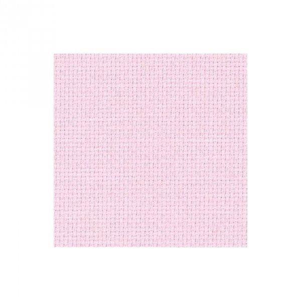 Kanwa Aida Zweigart 54/10cm (14ct)- 35x42-  różowy