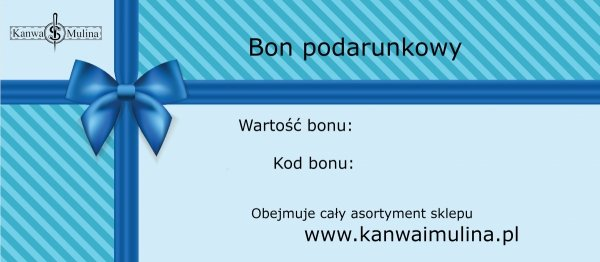 bon podarunkowy kanwaimulina
