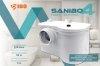 Pompa rozdrabniacz Sanibo 4 do wc