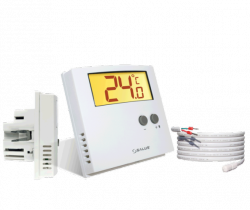 Podtynkowy regulator SALUS ERT30 UP - dobowy