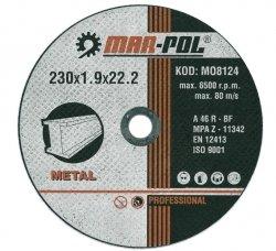 TARCZA DO CIĘCIA 230x1.9x22,2mm M-P