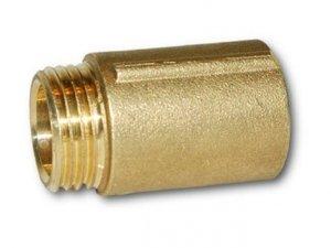Przedłużka mosiężna 1 cal 20mm 2cm