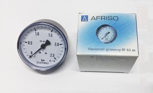 AFRISO manometr axialny 2,5 BAR