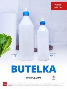 Butelka z tworzywa dozownik 0,5L