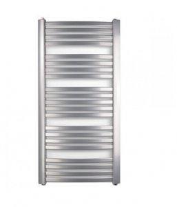 Grzejnik łazienkowy TURAN 580x940 srebrny metalik