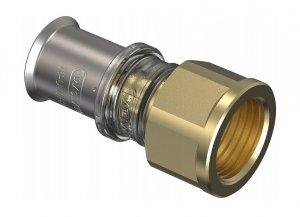Złączka pex Wavin M5 zaciskana 25x3/4 GW