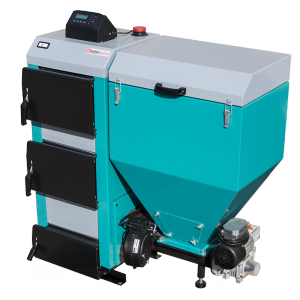 Kocioł z podajnikiem ślimakowym SETLANS PRIME 24 kW