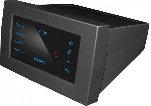 Sterownik dotykowy ST-06 do pieca, pompy CO,CWU i wentylatora nadmuchowego LED