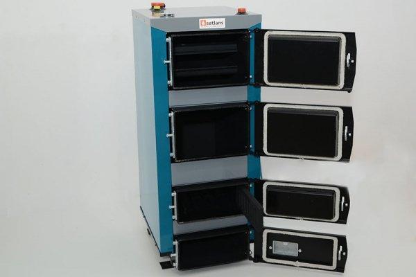 Kocioł SETLANS 12 kW uniwersalny