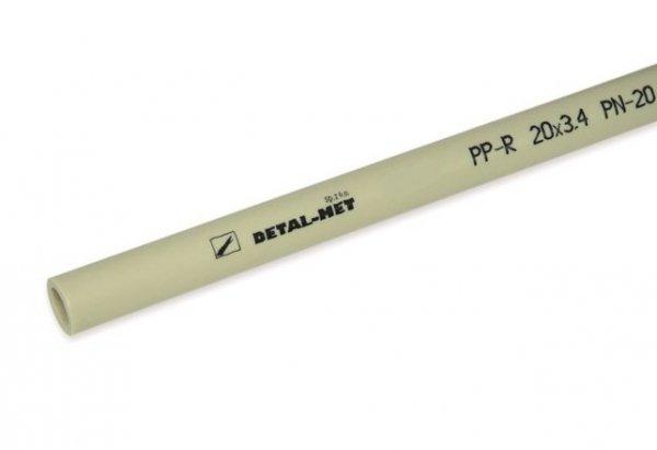 PP Rura zgrzewana PPR 20 polipropylen 1metr