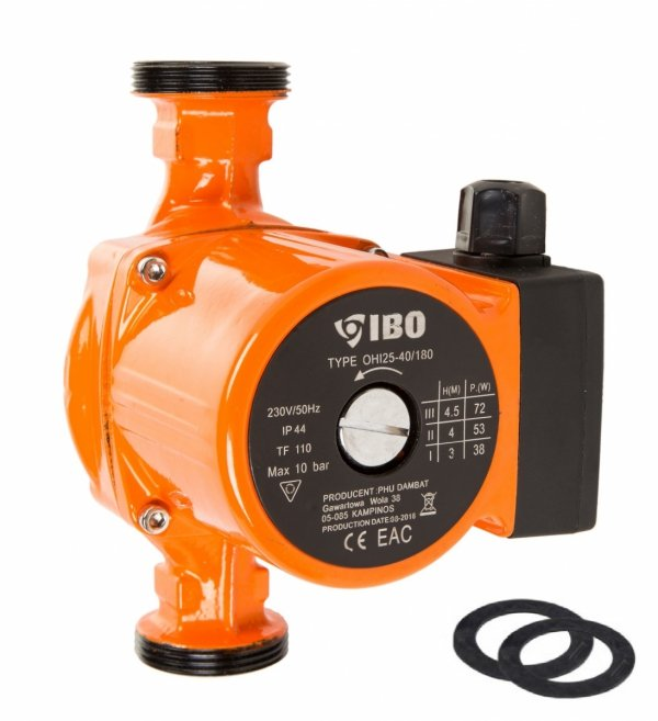 Pompa obiegowa OHI 25-40/180 IBO