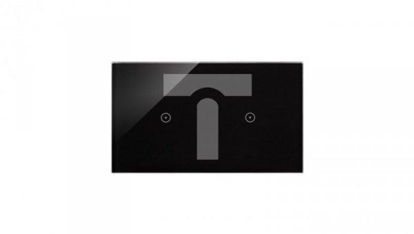 Simon Touch ramki Panel dotykowy S54 Touch, 2 moduły, 1 pole dotykowe + 1 pole dotykowe, zastygła lawa DSTR211/73