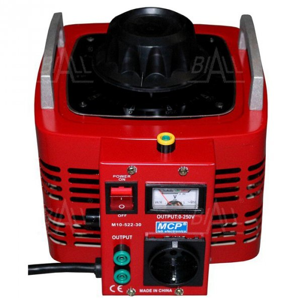 Autotransformator reg.  M10-522-30 260V/12A 3kVA MCP