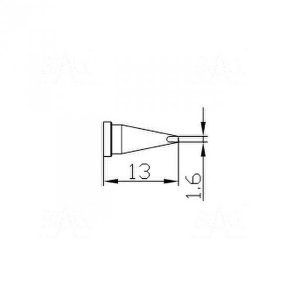 Grot 661 stożek ścięty 1,6mm do LF2000/LF8800/LF853D