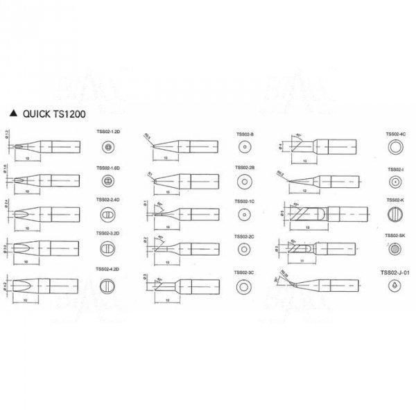 Grot TSS02-2.4D do Quick TS1200