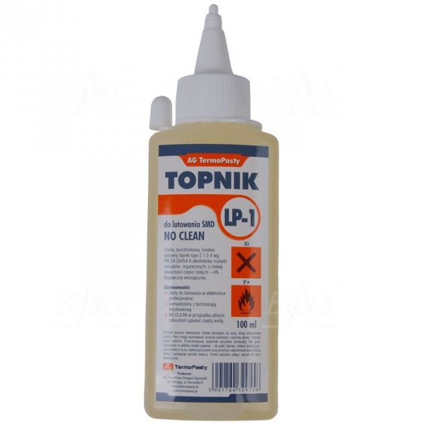 Topnik LP-1 typu 2.1.3A 100ml AG Termopasty