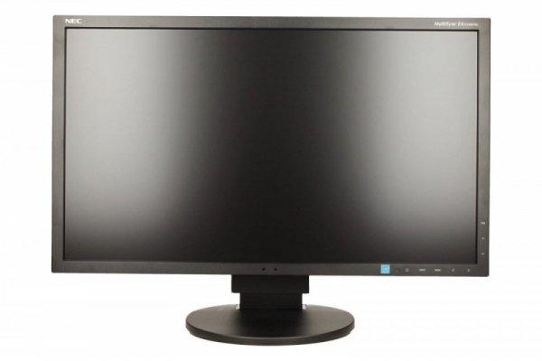 NEC Monitor 23 EA234WMi IPS W-LED, DisplayPort, DVID Czarny