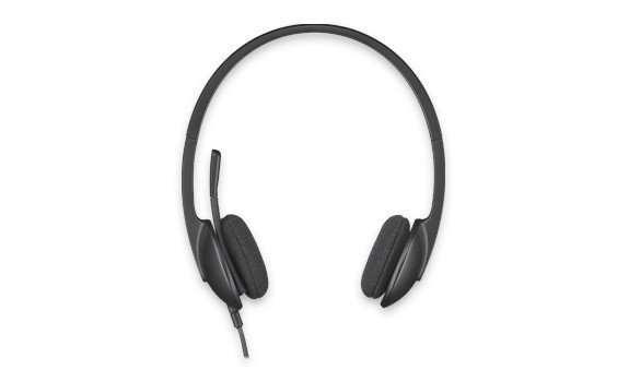 Logitech H340 Słuchawki z mikrofonem 981-000475 Black