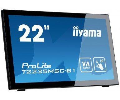 IIYAMA 21,5'' T2235MSC-B1 DOTYK HDMI/DVI/10P