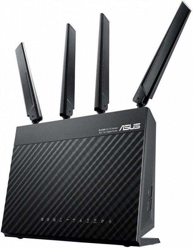 Asus Router 4G-AC68U WiFi AC1900 LTE 4G 4LAN-1GB 1WAN 1USB 1SIM