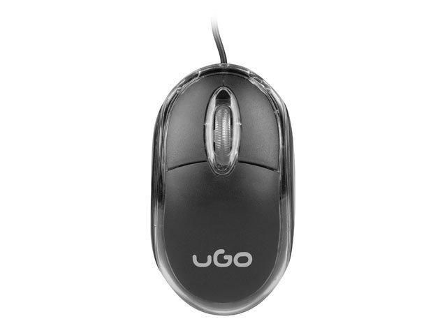 UGo Mysz optyczna Simple 1000 DPI czarna