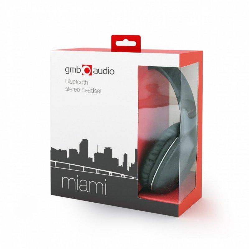 Gembird Słuchawki bluetooth stereo/laptop/telefon