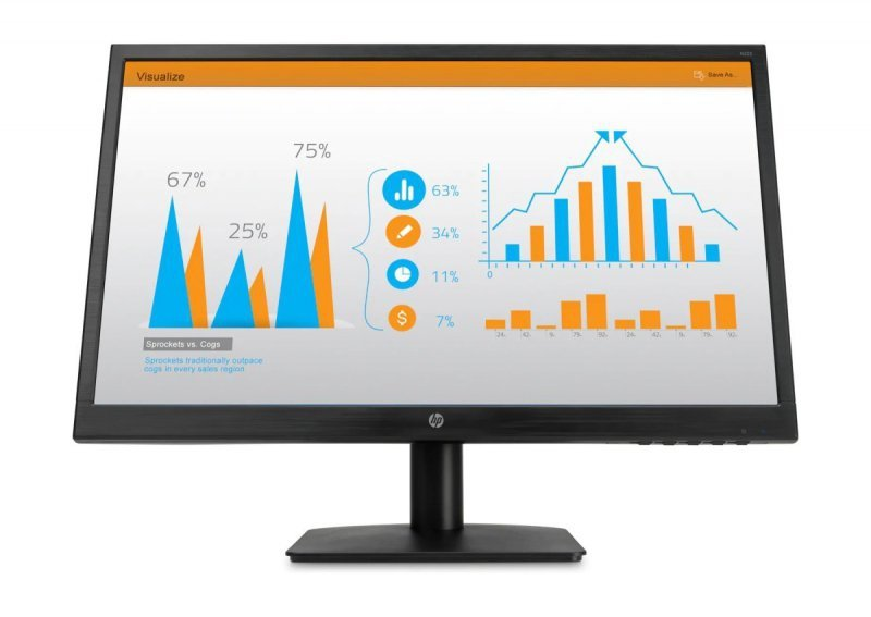 HP Inc. Monitor N223 21.5