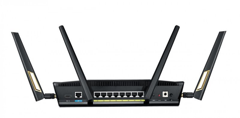 Asus Router RT-AX88U AX6000 1xWAN 8xLAN-1Gb 2xUSB