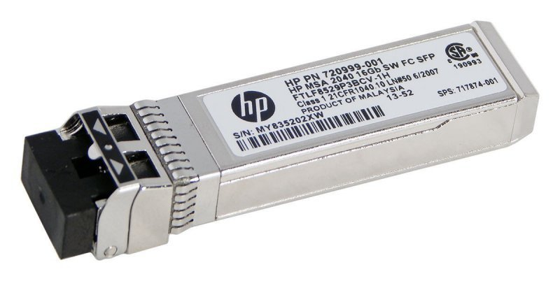 Hewlett Packard Enterprise Moduł MSA 16Gb SW FC SFP 4pk XCVR C8R24B