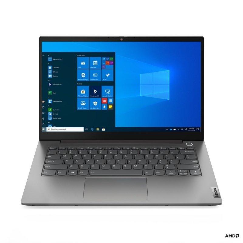 Lenovo Laptop ThinkBook 14 G2 20VF003APB W10Pro 4300U/8GB/256GB/INT/14.0FHD/Mineral Grey/1YR CI
