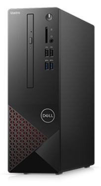 Dell Desktop Vostro 3681 i3-10100/8GB/256GB SSD/UHD 630/DVD RW/WLAN + BT/Kb/Mouse/Win10Pro  3Y BWOS