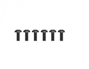 Śruby z łbem kulistym 6 szt. M2.5*6
