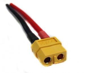 Konektor żeński XT60 10cm