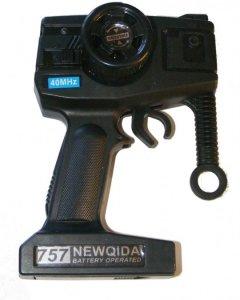 Radio Pistoletowe Crawler King 757-4WD05 27/40MHz 2CH - POSERWISOWY