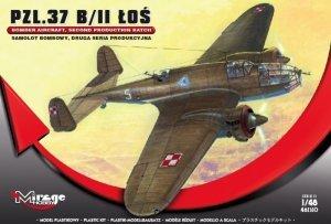 PZL-37 B/II ŁOŚ Polski Samolot Bombowy, DRUGA SERIA Produkcyjna
