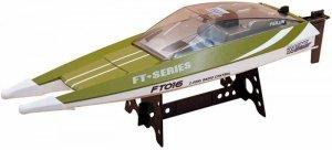 Motorówka FT016 2.4GHz RTR (długość 47cm, prędkość 30km/h, silnik klasy 540) - Zielona