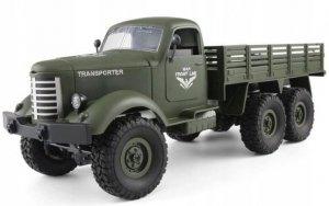 Wojskowy transporter 1:16, 6x6, 2.4GHz, RTR - Zielony
