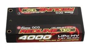 4000mAh 7.6V 130C Redline Gens Ace