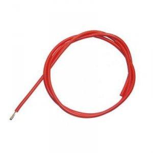 Przewód silikonowy 14AWG/2 mm2 (czerwony) 1m