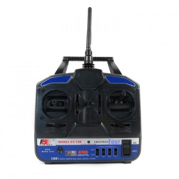 FlySky FS-T4B 4CH 2.4GHz + odbiornik R6B