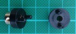 Sprzęgło kłowe 4mm 16.8x14.2mm