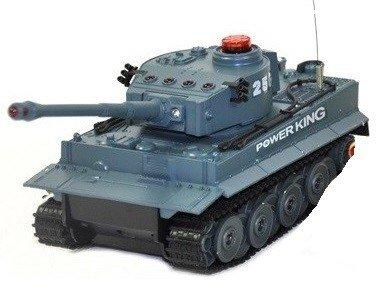 Zestaw wzajemnie walczących czołgów RTR 1:32 -1 czołg (niebieski) - POSERWISOWY