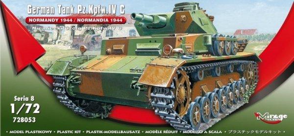 """German Tank Pz.Kpfw. IV Ausf. C """"Normandy 1944"""""""