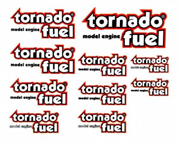 Komplet naklejek Tornado