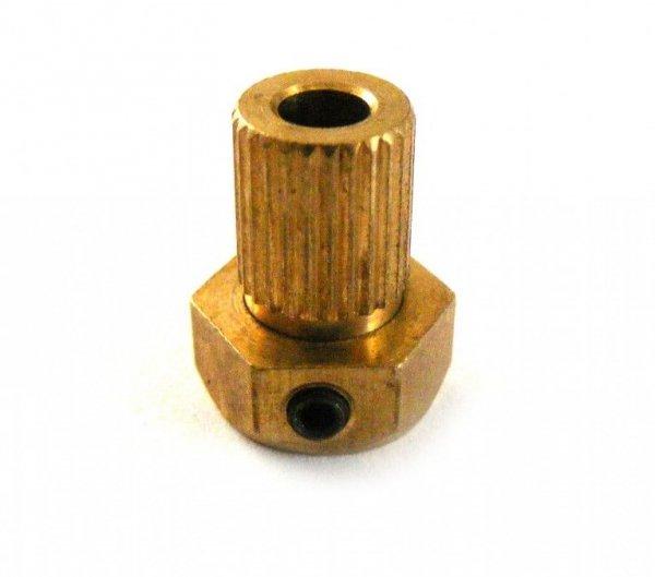 Element mosiężny kardanu 4mm