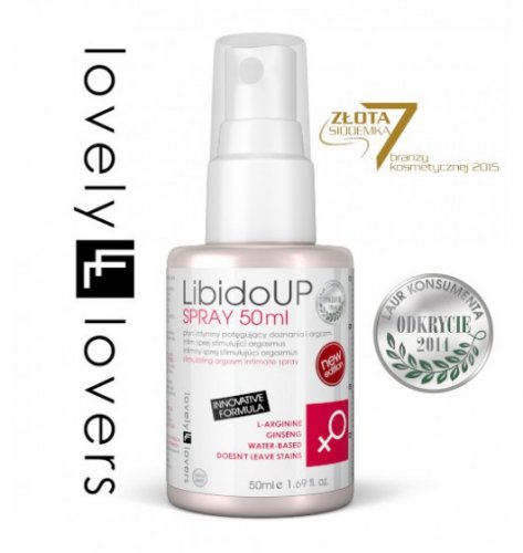 Lovely Lovers LibidoUP Spray 50 ml