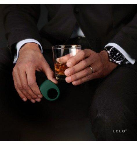 Wibrujący pierścień na penisa Lelo - Tor 2 (zielony)