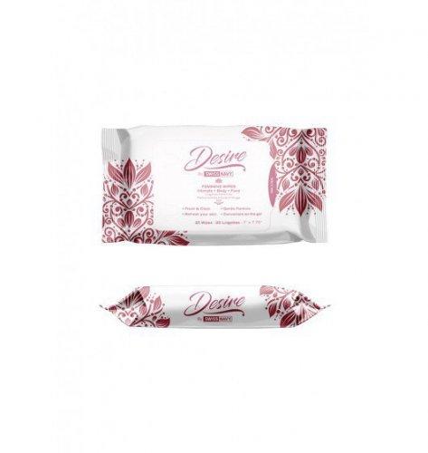 Desire by Swiss Feminine Wipes 25pcs box