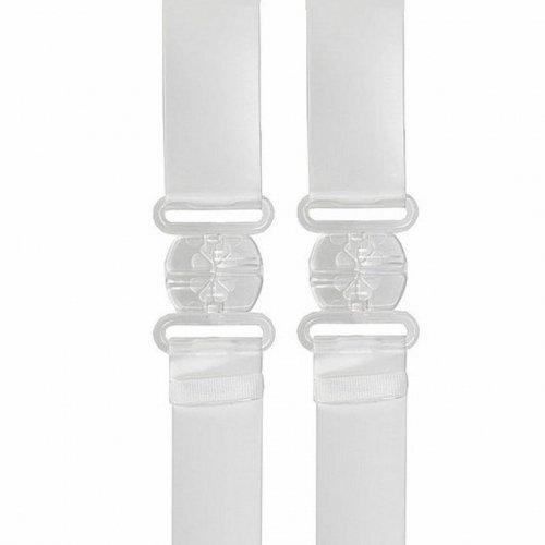 Pasek obniżający zapięcie - Bye Bra Transparent Low Back Strap Clear