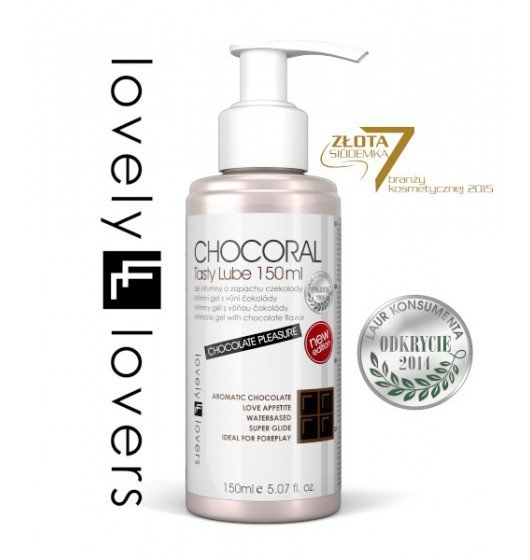 Lovely Lovers Chocoral Tasty Lube 150 ml